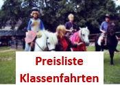 Preisliste Klassenfahrten Reiterferien Ponyreiten