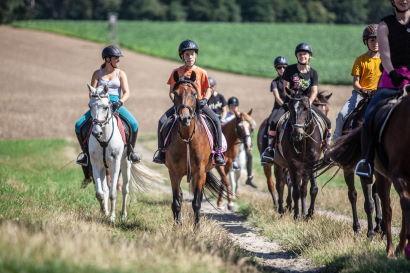 Ponyreiten - Lüneburger Heide